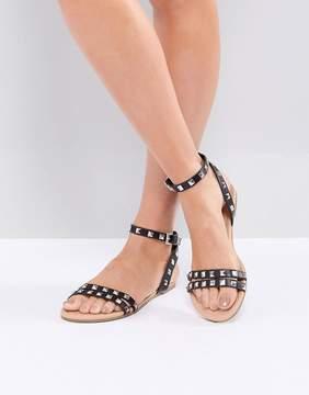 Asos FIBBING Studded Flat Sandals