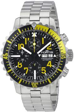 Fortis Marine Master Chronograph Black Dial Men's Watch 6712414MG