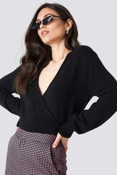 NA-KD Na Kd Overlap Knitted Sweater
