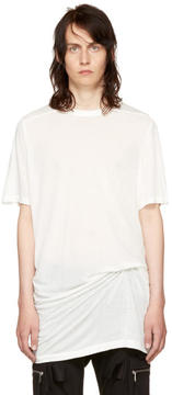 Rick Owens Off-White Level T-Shirt