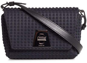Akris Anouk Little Day Techno Fabric Crossbody Bag