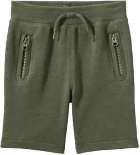 Joe Fresh Toddler Boys' Essential Short, Dark Olive (Size 5)