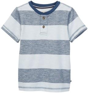 Lucky Brand Striped Henley (Toddler Boys)