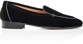 The Row Women's Velvet Loafers