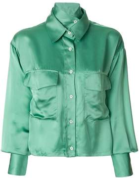 Aalto cropped shirt