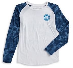 Buffalo David Bitton Boy's Cotton Raglan Tee