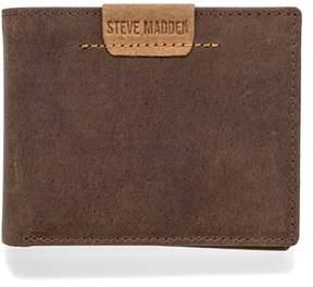 Steve Madden Dakota Leather Passcase Wallet.