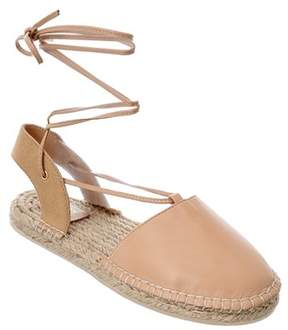 Australia Luxe Collective Morongo Leather Espadrille Sandal.