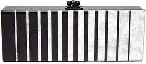 Edie Parker Flavia Fade Box Clutch Bag