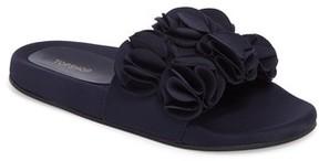 Topshop Women's Hewitt Ruffle Slide Sandal