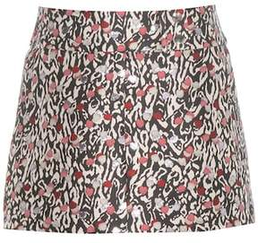 Giamba Jacquard miniskirt