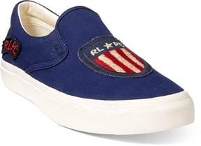 Ralph Lauren Thompson Patchwork Sneaker