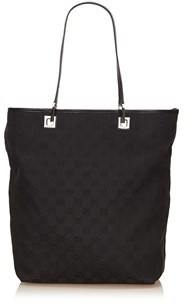 Gucci Pre-owned: Guccissima Jacquard Tote Bag. - BLACK - STYLE