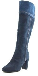 Rialto Cordelia Round Toe Canvas Knee High Boot.