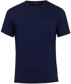 Ermenegildo Zegna Crew-neck cotton pocket T-shirt
