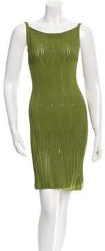 Alaia Pleated Knit Dress w/ Tags