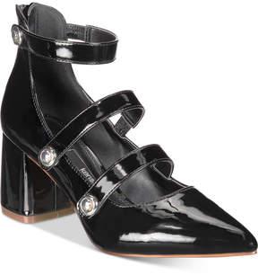 Kensie Arlo Block-Heel Pumps Women's Shoes