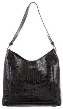 Tumi Embossed Shoulder Bag