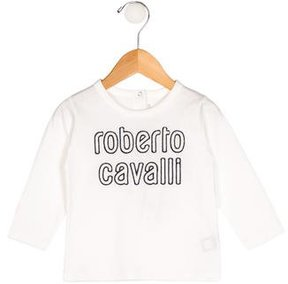 Roberto Cavalli Boys' Logo Embroidered T-Shirt