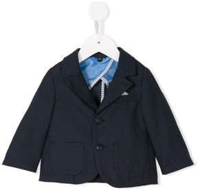 Emporio Armani Kids polka dot blazer