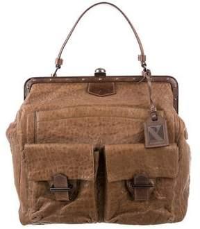 Reed Krakoff Leather Frame Satchel