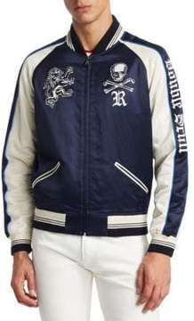 Ralph Lauren Purple Label Chairman Varsity Jacket