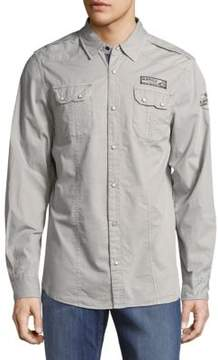 Buffalo David Bitton Simeon Cotton Casual Button-Down Shirt