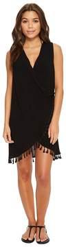 Athena Bazaar Beauty Wrap Dress Cover-Up Women's Swimwear