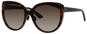 Safilo USA Diorific 1 Cat Eye Sunglasses