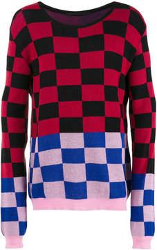 Haider Ackermann checked jumper