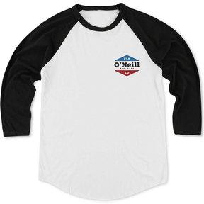 O'Neill Men's Dialogue Logo-Print 3/4 Raglan-Sleeve T-Shirt