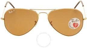 Ray-Ban Brown Aviator Men's Sunglasses