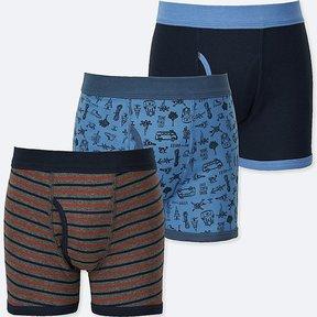 Uniqlo Boy's Boxer Briefs 3 Pack