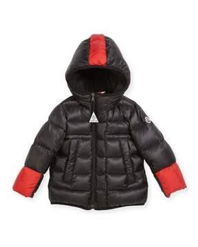 Moncler Boys' Drake Colorblock Down Jacket, Size 12M-3T