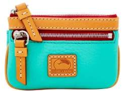 Dooney & Bourke Patterson Leather Small Coin Case - JADE - STYLE