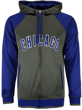 Majestic Men's Chicago Cubs Fanatic Raglan Full-Zip Hoodie