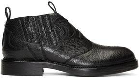 McQ Black Columbia Chelsea Boots