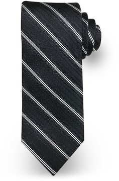 Haggar Men's Striped Tie