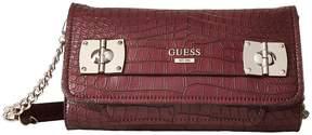 GUESS Frankee Crossbody Clutch Cross Body Handbags