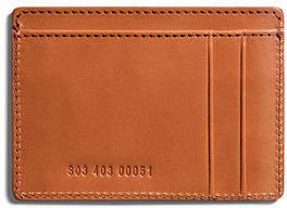 Shinola Six-Pocket Leather Card Case