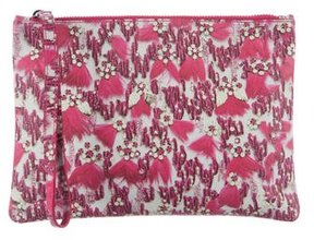 Mary Katrantzou Brushed Leather Pouch
