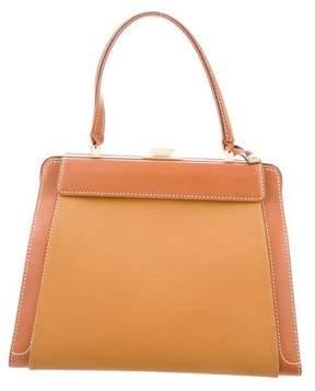 Delvaux Leather Frame Handle Bag