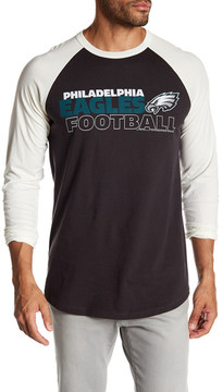 Junk Food Clothing Philadelphia Eagles Raglan Tee