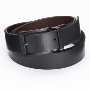 Apt. 9 Big & Tall Matte Reversible Cut-Edge Belt
