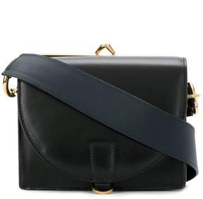 Sacai mini hybrid purse shoulder bag