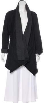 Edun Distressed Wool Coat