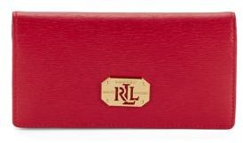 Lauren Ralph Lauren Newbury Slim Leather Wallet