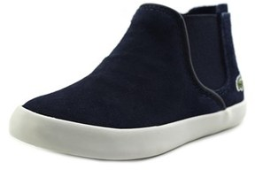 Lacoste Ziane Chelsea Boot Toddler Round Toe Suede Blue Sneakers.