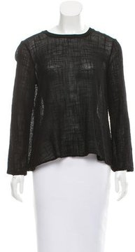 Enza Costa Oversize Long Sleeve Top w/ Tags