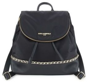 Logo Accented Backpack
